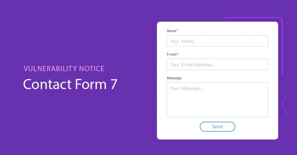 Contact Form 7 Vulnerability