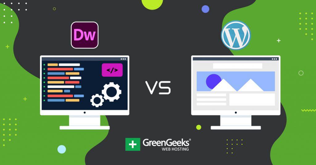 Dreamweaver vs WordPress
