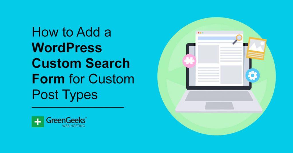 WordPress Custom Search Form