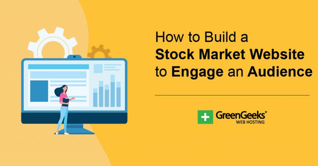 Make a Stock Market Website