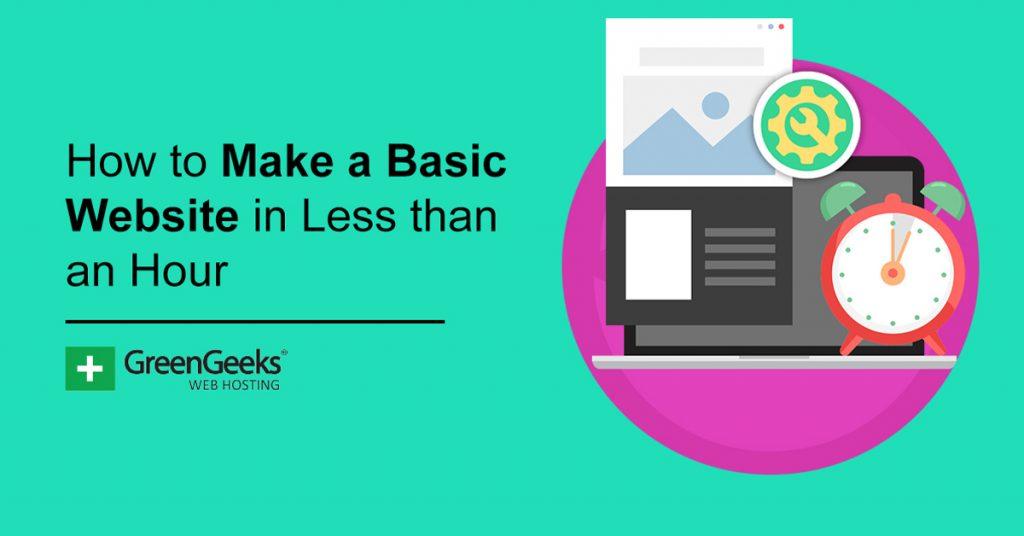 Make a Basic Website